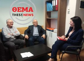Surgeons Apostolos Tentes and Christos Christakis spoke to ThessNews